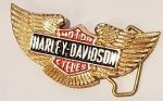 Harley Davidson Solid Brass Belt Buckle. Code HD-15